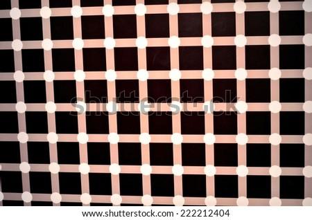 Optical illusion textured geometric seamless background pattern - stock photo