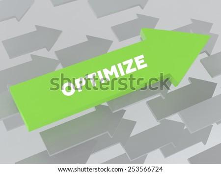 OPTIMIZE - stock photo