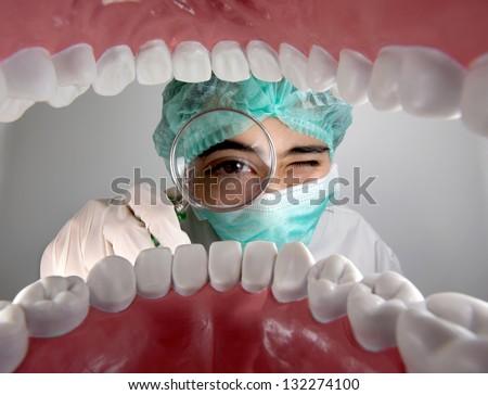 oral health - stock photo