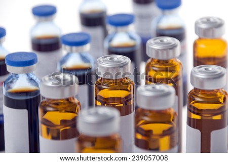oral solutions - stock photo