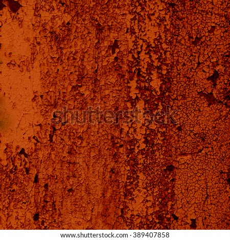 orange abstract background texture old cement wall - stock photo