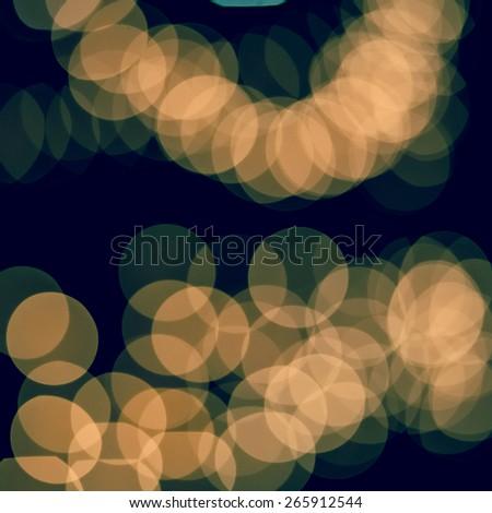 Orange abstract blur background - stock photo