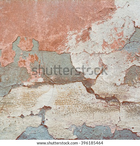 orange abstract gray background texture old cement wall