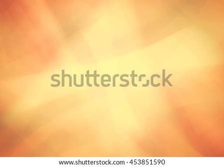 orange and gold background with abstract pattern and soft golden lighting - stock photo
