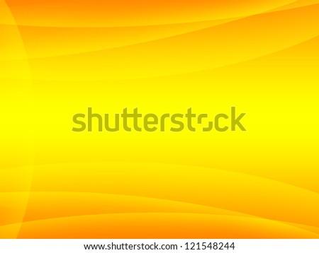 Orange and yellow background - stock photo