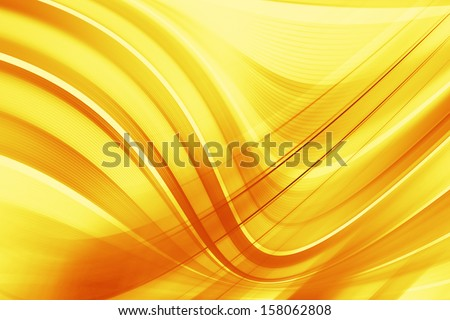 Orange and yellow background of abstract - stock photo