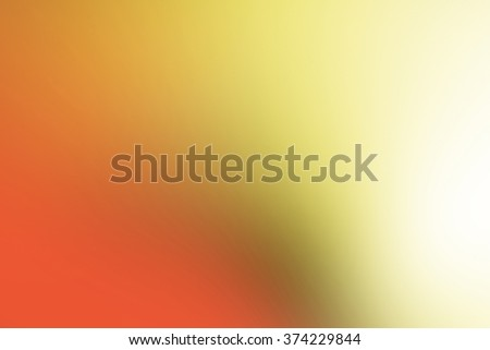 Orange and yellow tones used to create abstract background  - stock photo