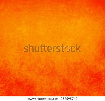 orange background - stock photo