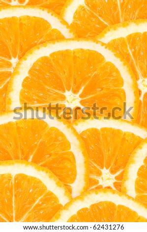 Orange background - stock photo