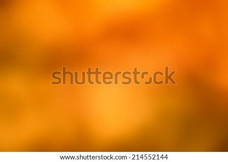 Orange background abstract design. Defocused abstract photo smooth background  - stock photo