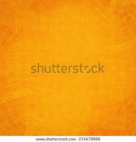 Orange background blank - stock photo