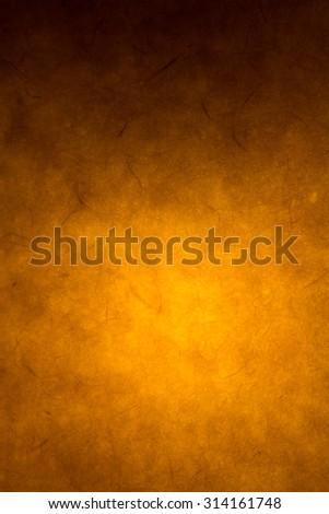 orange background texture or black background grunge - stock photo