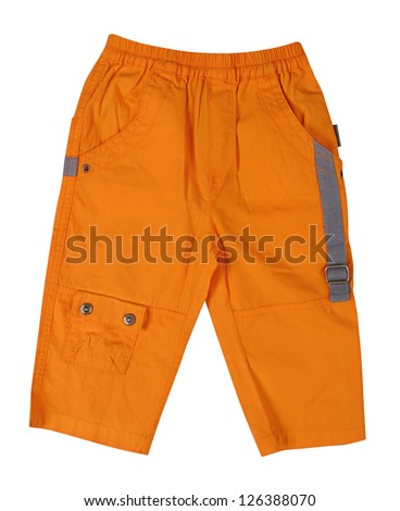 orange breeches