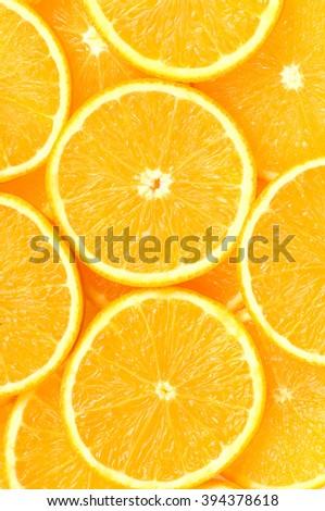 orange clipping path - stock photo