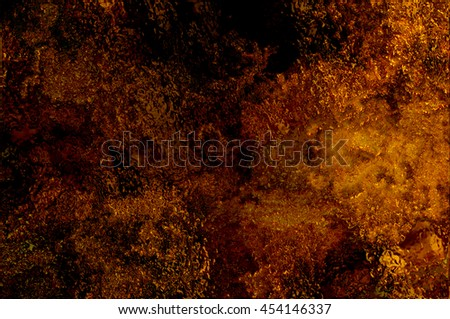 Orange creative abstract grunge background