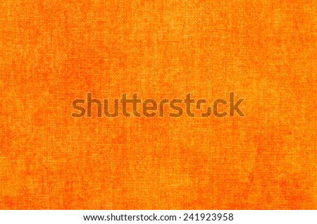 orange empty abstract texture painted on art canvas background - stock photo