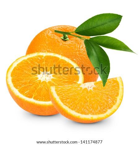 fruit orange fruit monster