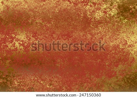 Orange golden , abstract   background , with   painted  grunge background texture for  design .