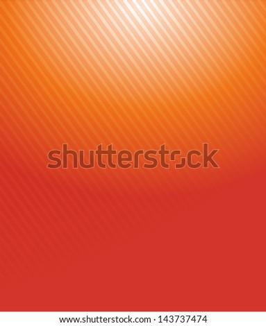 orange gradient lines pattern illustration design background - stock photo