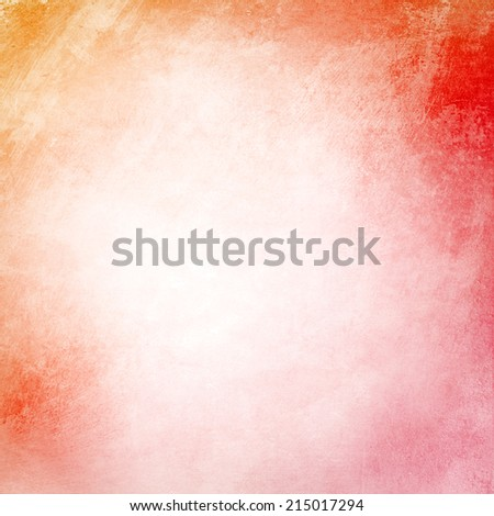 Orange grunge blank background texture - stock photo