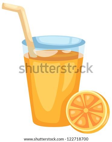 Orange juice.JPG (EPS vector version id 121524574,format also available in my portfolio) - stock photo