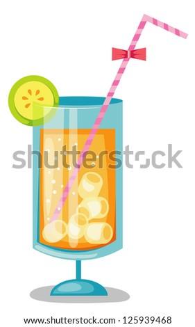Orange juice .JPG (EPS vector version id 125259092,format also available in my portfolio) - stock photo