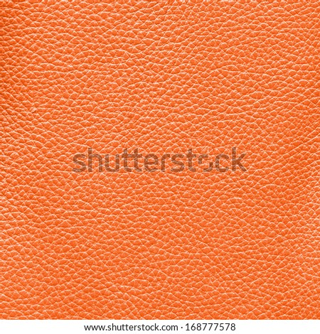 orange leather texture as background for design-works