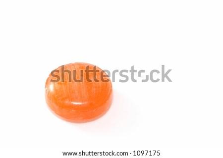 Orange Lozenges - stock photo