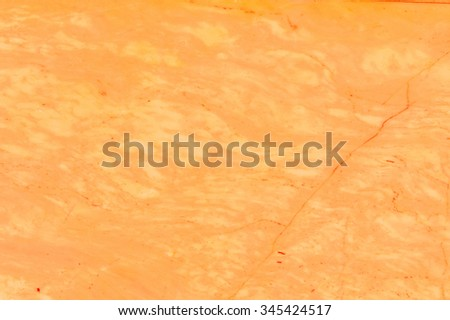 Orange marble texture background.