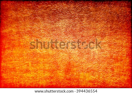 Orange moon abstract design background, digital art illustration