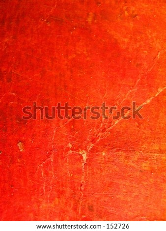 orange oil pastels - stock photo
