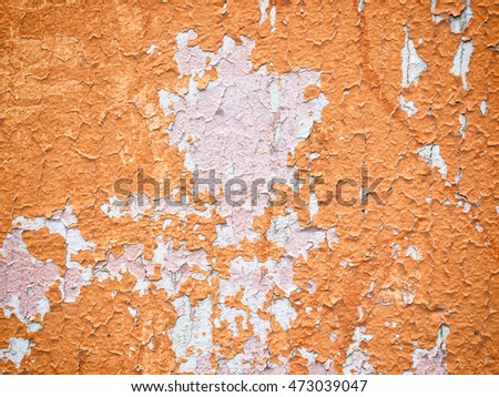 orange old wall texture for background usage