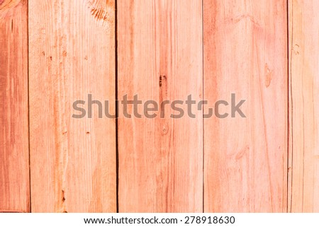 Orange old wood texture with natural patterns background. - stock photo