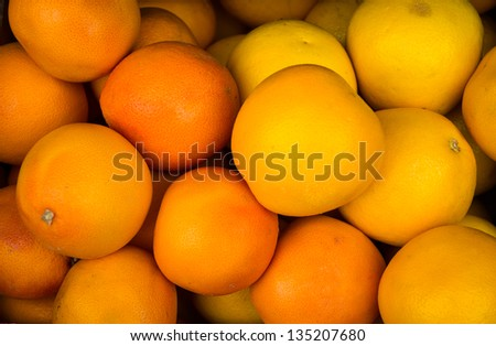 orange pack - stock photo