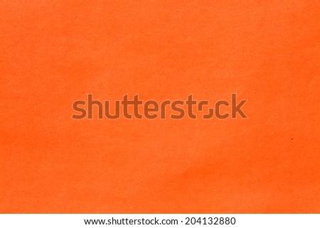 Orange paper background - stock photo