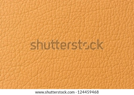 Orange Patterned Artificial Leather Texture - stock photo