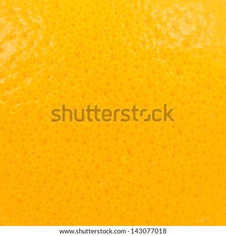 orange peel close up - stock photo