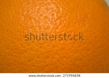 orange peel texture of orange - stock photo
