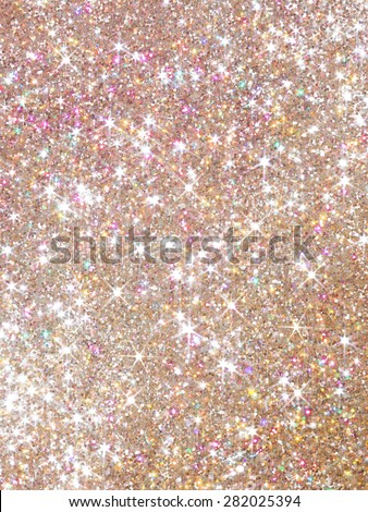 Orange polarization pearl sequins, shiny glitter background/I shine in a lozenge - stock photo