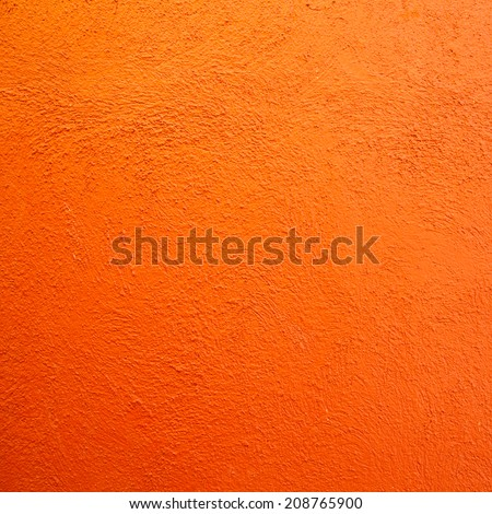 Orange wall background - stock photo