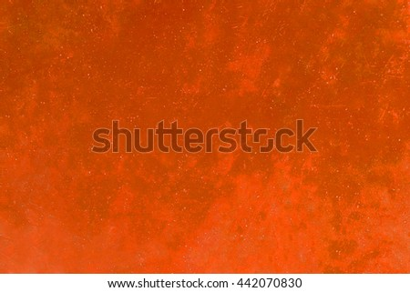 Orange wall temple for texture background.