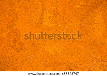 Orange Wall Texture Abstract Background