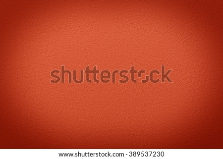 Orange wall with vignette, a background or texture