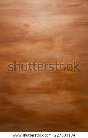 Orange Water Color Paint Texture. Abstract Painting Background - stock photo