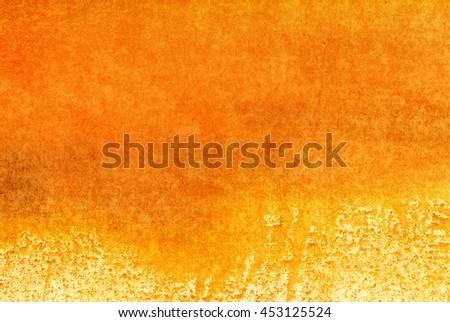 orange yellow watercolor background