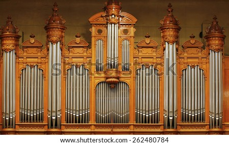 Organ - stock photo