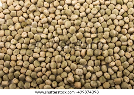organic dried peas, also usable as a background