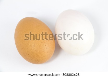 Organic Duck eggs vs Chicken eggs and preserved egg