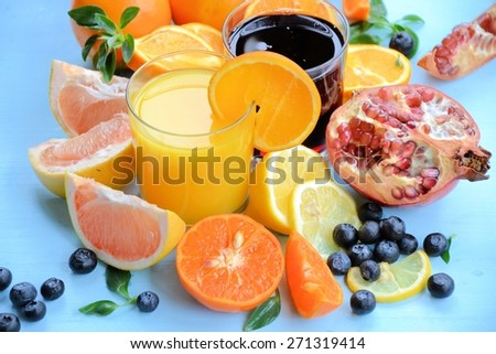 Organic food - stock photo