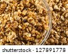 Organic Granola Cereal with oats, flax, almond, and sunflower seeds - stock photo